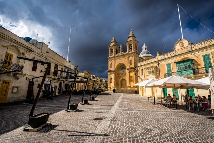 Parish Church – Marsaxlokk, Malta – Travel, landscape photograph