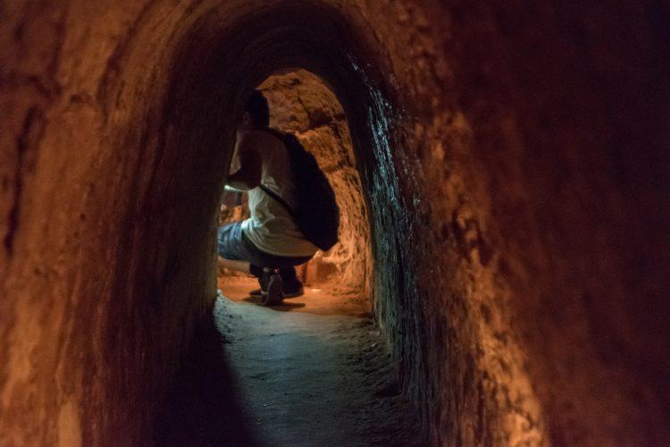Small Cu Chi Tunnel Vietnam