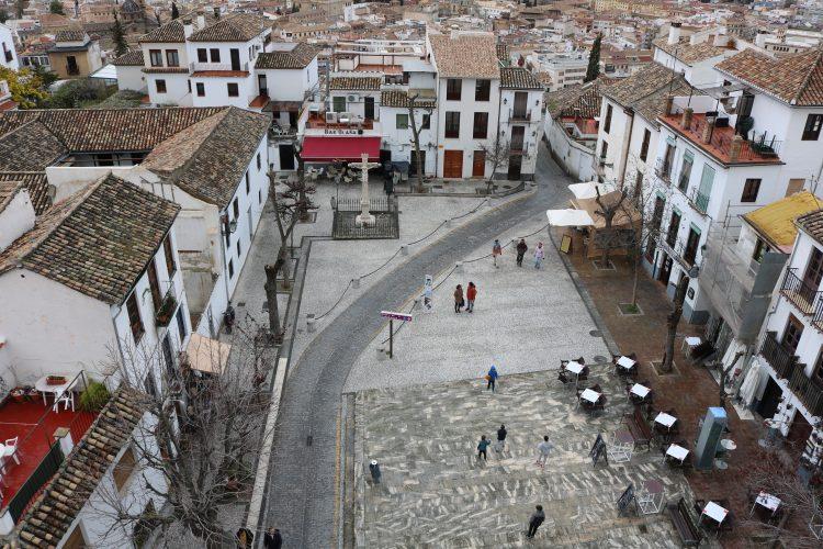 Granada-anochecer