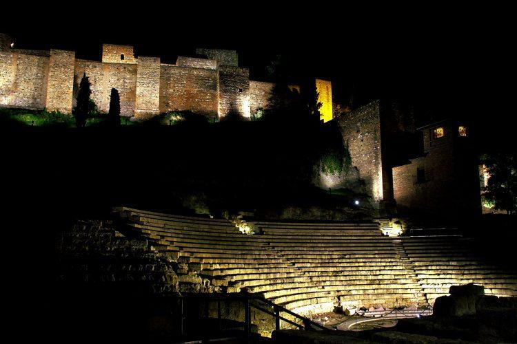 Málaga al anochecer 2