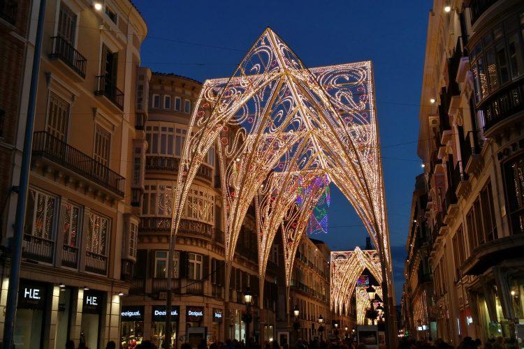 Málaga al anochecer 4
