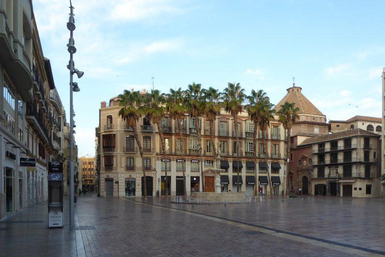 Málaga al anochecer 5