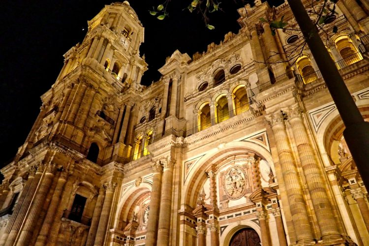 Málaga al anochecer 6